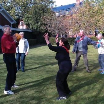 ÆldreSagen - Motionsaktiviteter