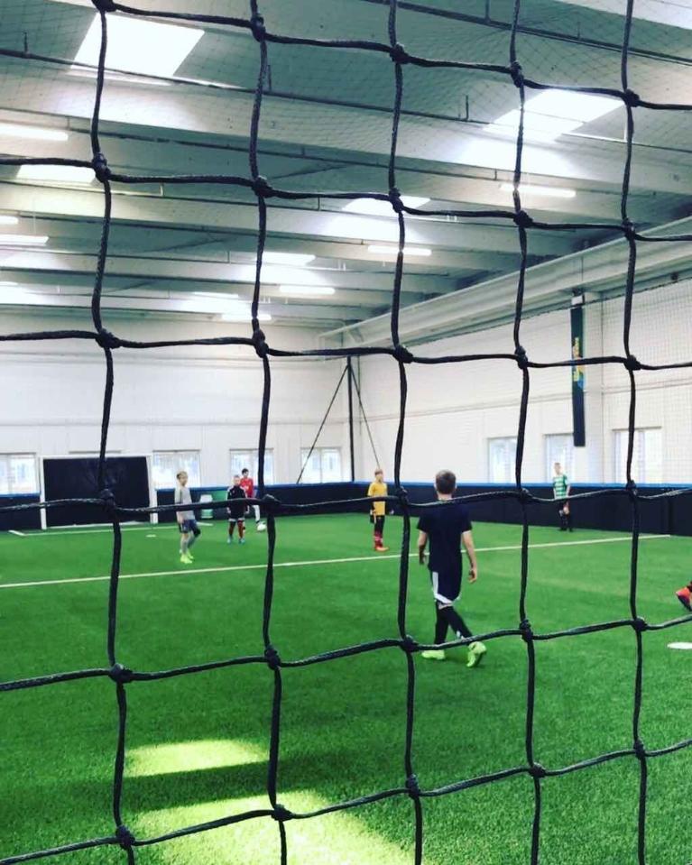 Indendørsfodbold i indoorclub