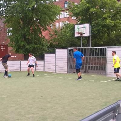 Streetfodbold på Frederiksberg