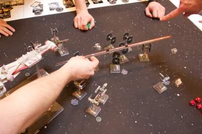 X-wing ~ lærer et nyt brætspil?