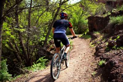 Ven/veninde til mountainbike