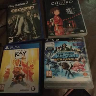 Venner til PlayStationspil og film