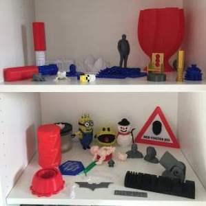 3D print og 3D tegning