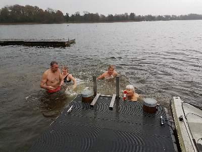 Vinterbadning i Maribo Rokub