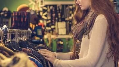 Veninde til shoppingture