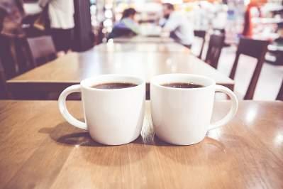 Gåtur og kaffe hygge