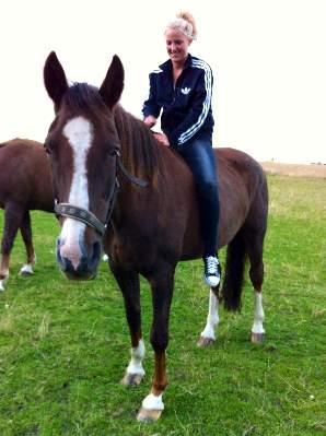 Lån af hest til skridttur